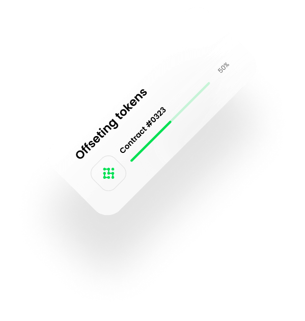 oxychain offsetting tokens